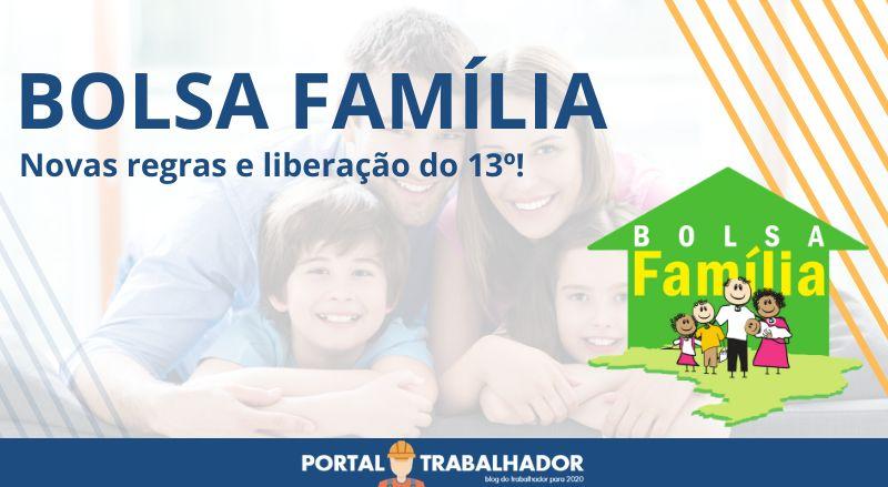 Conheça as Novas Regras do Bolsa Família!