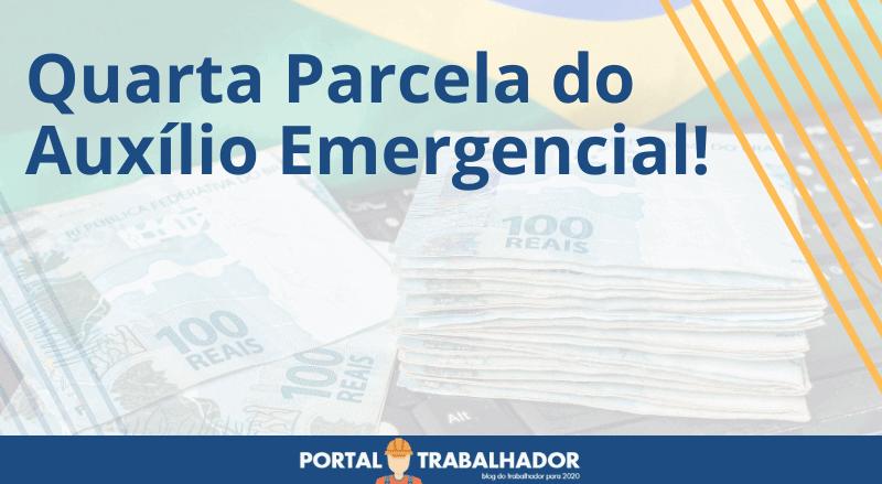 quarta parcela do auxílio emergencial