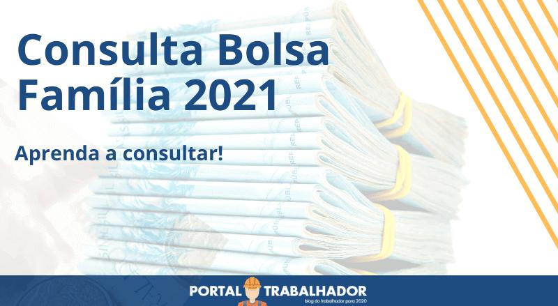 Consulta Bolsa Família 2021, descubra se você tem direito?